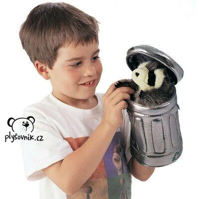 Plyšová hračka: Mýval v popelnici plyšový | Folkmanis