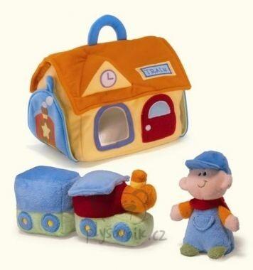 Plyšová hračka: Nádraží - dětský set plyšové | Russ Berrie