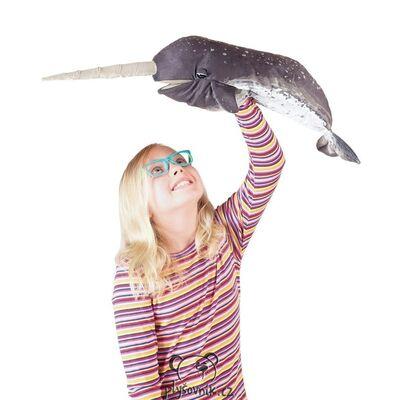 Plyšová hračka: Narval jednorohý plyšový | Folkmanis