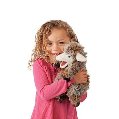 Plyšová hračka: Ovce vlnosrstá plyšový | Folkmanis