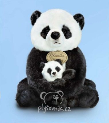 Plyšová hračka: Panda s miminkem plyšová | Russ Berrie