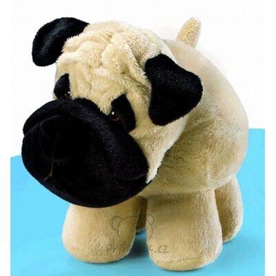 Plyšová hračka: Pes Pug Rollie Pollie plyšový | Russ Berrie