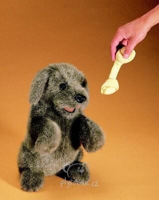 Plyšová hračka: Pes sedící plyšový | Folkmanis