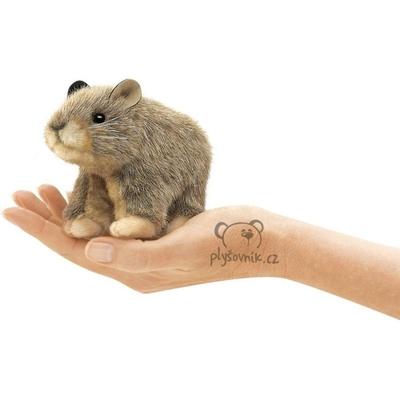 Plyšová hračka: Pišťucha americká na prst plyšová | Folkmanis