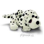 plyšák Dalmatin Dishi se stěnětem, plyšová hračka
