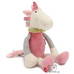 plyšák Jednorožec Sweety růžový, plyšová hračka
