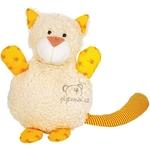 plyšák Kočička - nahřívací polštářek