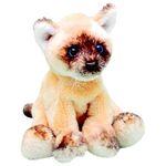 plyšák Sedící kočka ragdoll, plyšová hračka