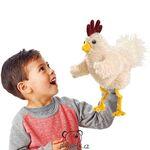 plyšák Veselé kuře, plyšová hračka