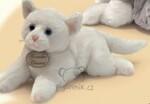 plyšová Bílé koťátko Christine, plyšová hračka