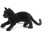 plyšová Černá kočka, plyšová hračka