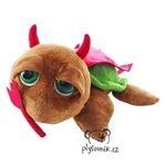 plyšová Čertovská želva Devil, plyšová hračka