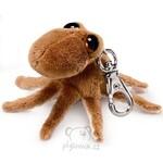 plyšová Chobotnice Octopus klíčenka, plyšová hračka