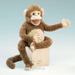 plyšová Dlouhonohá opice, plyšová hračka