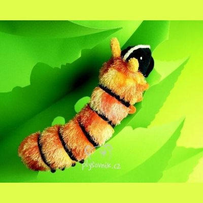 Plyšová hračka: Plyšová housenka plyšová | Folkmanis