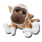 plyšová JUMBO opice Kimbo, plyšová hračka