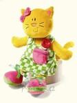 plyšová Knoflíková kočička, plyšová hračka
