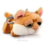 plyšová Kočka Chilie klíčenka, plyšová hračka