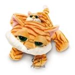 plyšová Kočka Chilie s miminkem, plyšová hračka