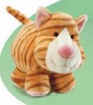 plyšová Kočka Tabby, plyšová hračka