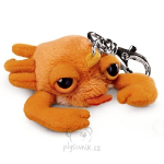 plyšová Krab Claws klíčenka, plyšová hračka