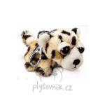 plyšová Leopard Leonard klíčenka, plyšová hračka