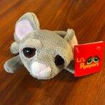 plyšová Ležící myš Snuffle, plyšová hračka