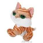 plyšová Menší kočka Tabby, plyšová hračka