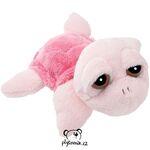plyšová Menší růžová želva Coral, plyšová hračka