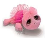 plyšová Menší růžová želva Swirly, plyšová hračka