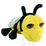 plyšová Menší včela Zipper