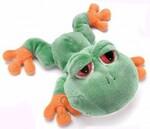 plyšová Menší  žába Ribbett
