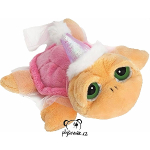 plyšová Menší želva Pebbles princezna, plyšová hračka