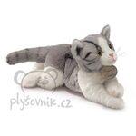 plyšová Mourovatá kočka, plyšová hračka