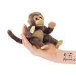 plyšová Opice na prst, plyšová hračka
