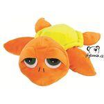 plyšová Oranžová želva Leia