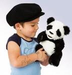 plyšová Panda menší, plyšová hračka