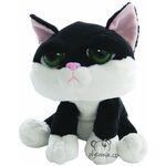 plyšová Smutná kočka Domino, plyšová hračka