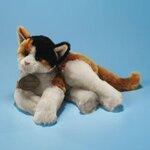 plyšová Velká kočka Calico