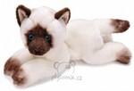plyšová Velká siamská kočička, plyšová hračka