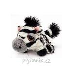 plyšová Zebra Stripes klíčenka