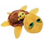 plyšová Želva Pebbles s miminkem, plyšová hračka