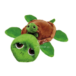 plyšová Želva Rocky s miminkem, plyšová hračka