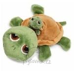 plyšová Želva Shecky s miminkem, plyšová hračka