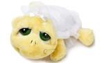 plyšová Želva Shelly nevěsta, plyšová hračka