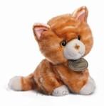 plyšová Zrzavá kočička, plyšová hračka