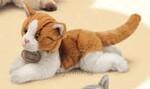 plyšová Zrzavá kočička Tabby, plyšová hračka