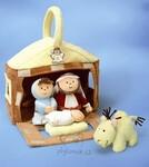 plyšové Betlém - dětský set, plyšová hračka