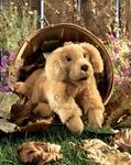 plyšové Chundelaté štěně labradora
