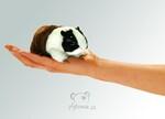 plyšové Maňásek na prst morče 1+1 ZDARMA, plyšová hračka